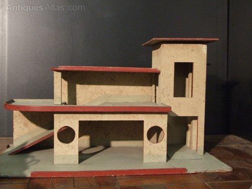 Antiques atlas big toy art deco garage - Deco garage vintage ...