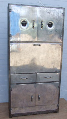Antiques atlas metal 1950 39 s kitchen cabinet for 50s metal kitchen cabinets