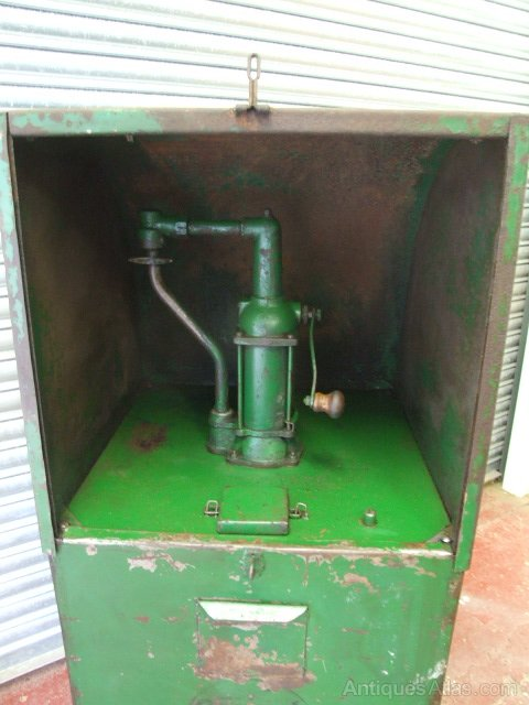 antiques atlas motor oil pump dispenser for garage
