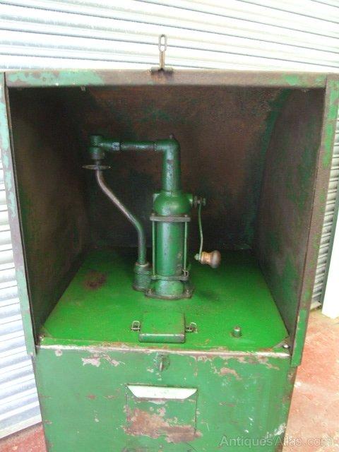 antiques atlas motor oil pump dispenser for garage