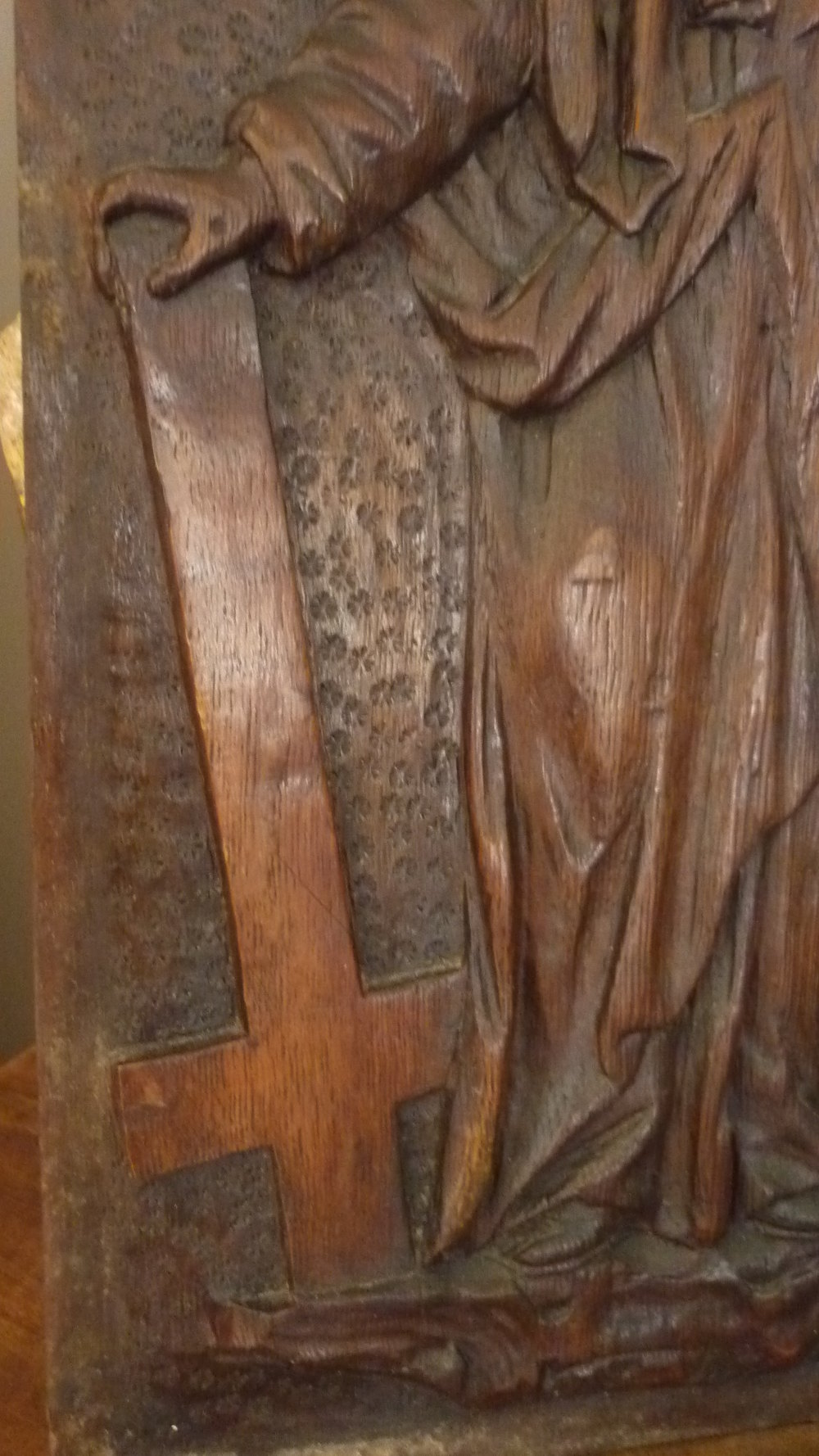 Antiques atlas th century carved oak religious panel