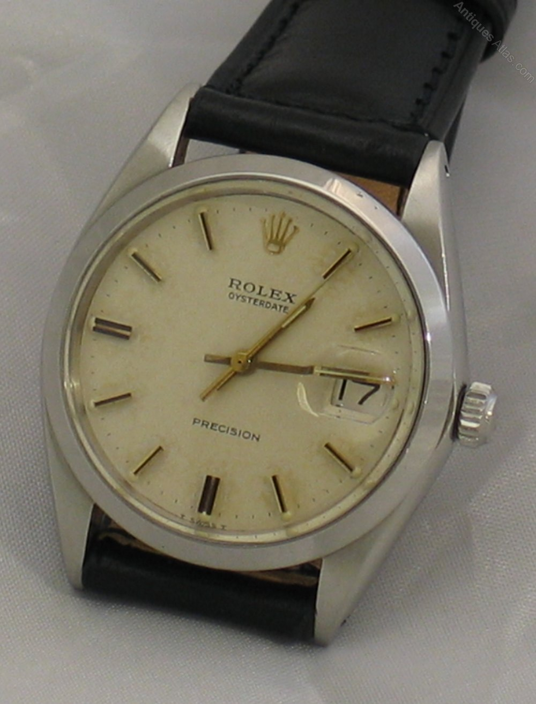 antiques atlas rolex oysterdate wrist watch
