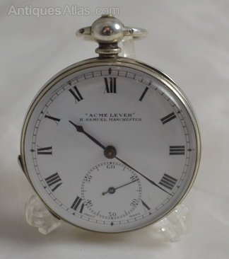 antiques atlas acme keywind gents silver pocket