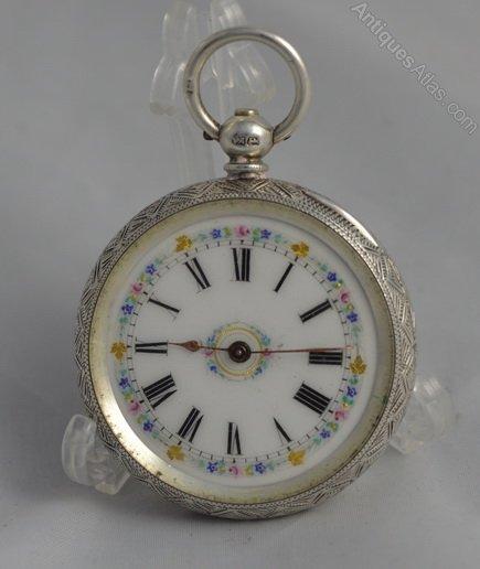antiques atlas silver pocket