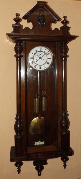 Antiques Atlas Twin Weight Vienna Wall Clock