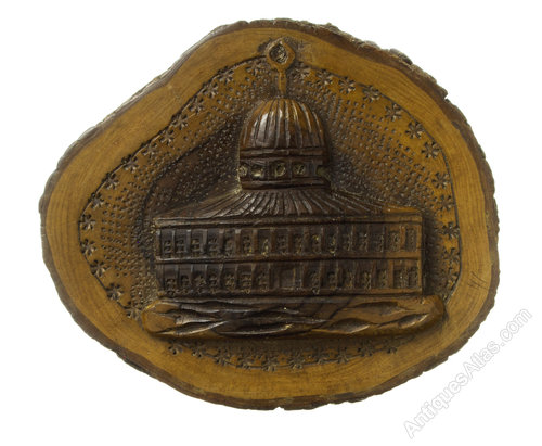 Antiques atlas jerusalem carved plaque dome of the rock