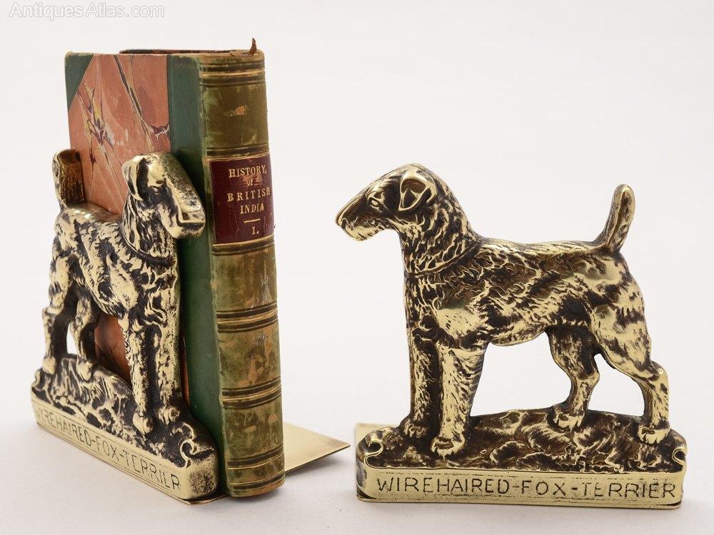 Antiques atlas edwardian brass bookends circa 1910 - Antique brass bookends ...