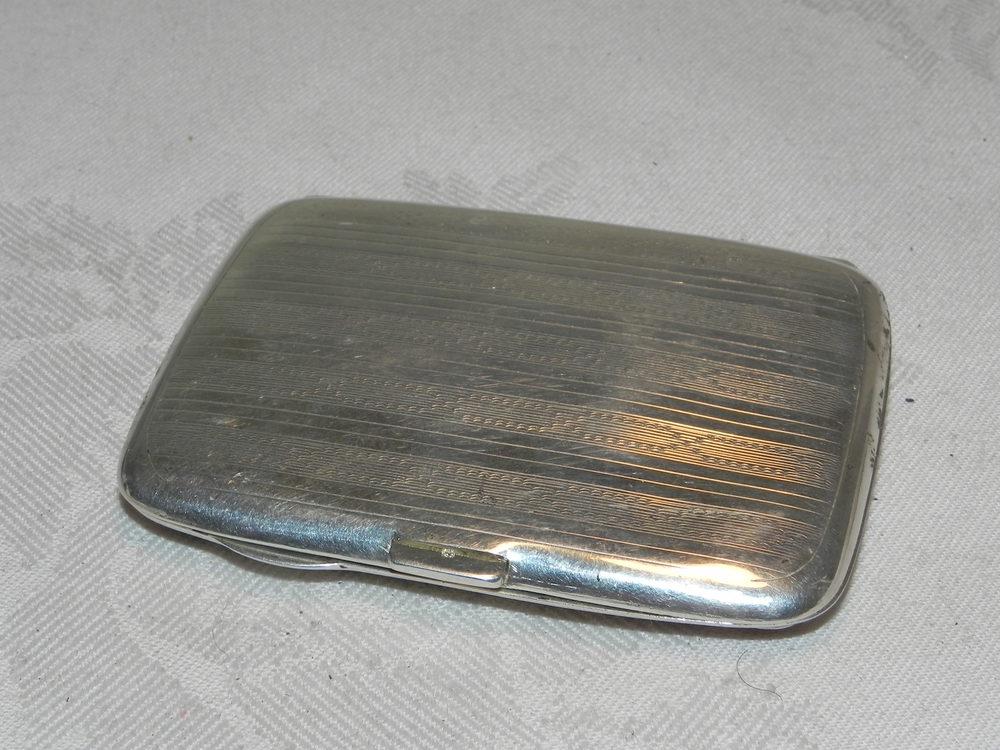 Antiques Atlas - Silver & Guilloche Enamel Cigarette Case