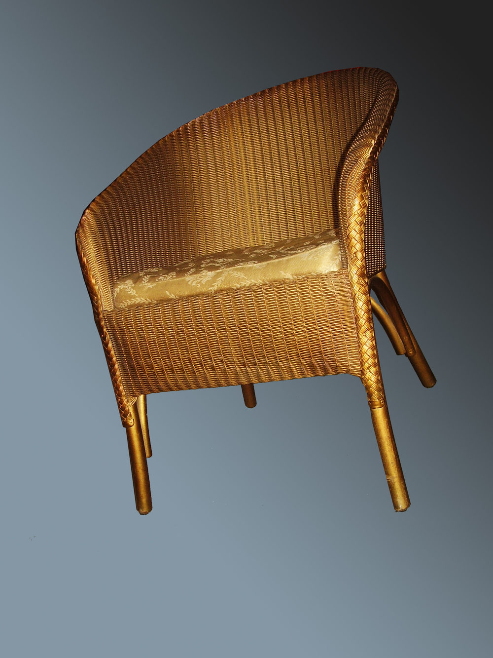 4 piece set of lusty lloyd loom antiques atlas. Black Bedroom Furniture Sets. Home Design Ideas