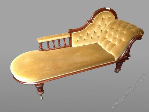Chaise lounge antiques atlas for Antique chaise lounge prices