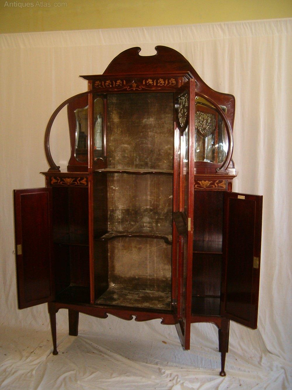 Important Art Nouveau Cabinet Antiques Atlas