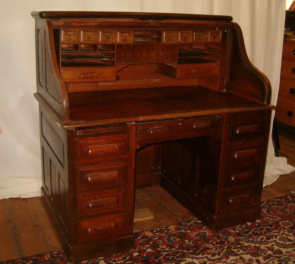 Oak Rolltop Desk Antiques Atlas