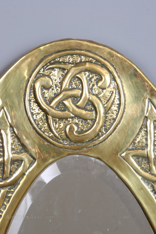 Antiques Atlas Glasgow School Celtic Wall Mirror