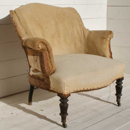 Antique French Armchair - Antiques Atlas