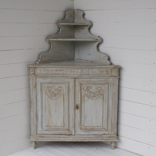 Antique French Corner Cabinet ... - Antique French Corner Cabinet - Antiques Atlas