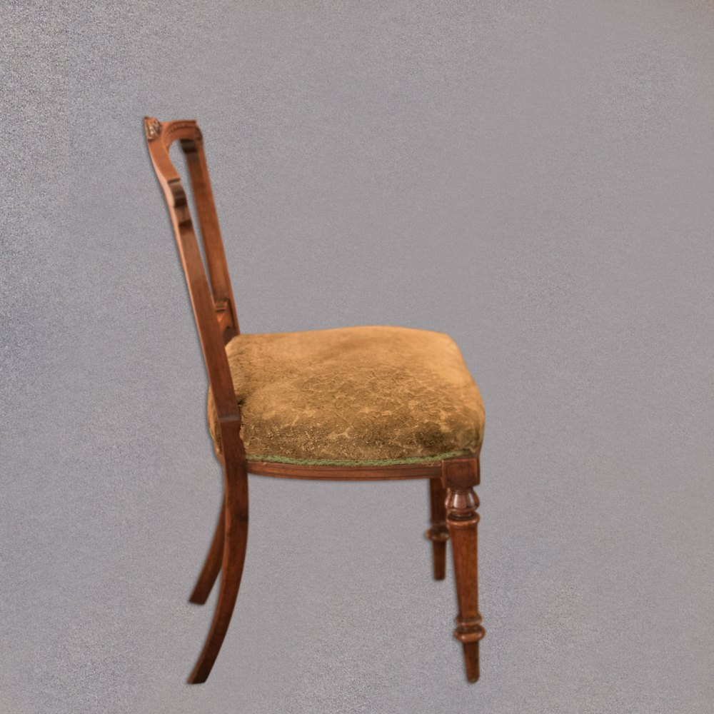 dating dining chairs Set of eight antique victorian mahogany & leather dining chairs dating from around 1890 in the victorian period these antique mahogany dining chairs come as a set of .