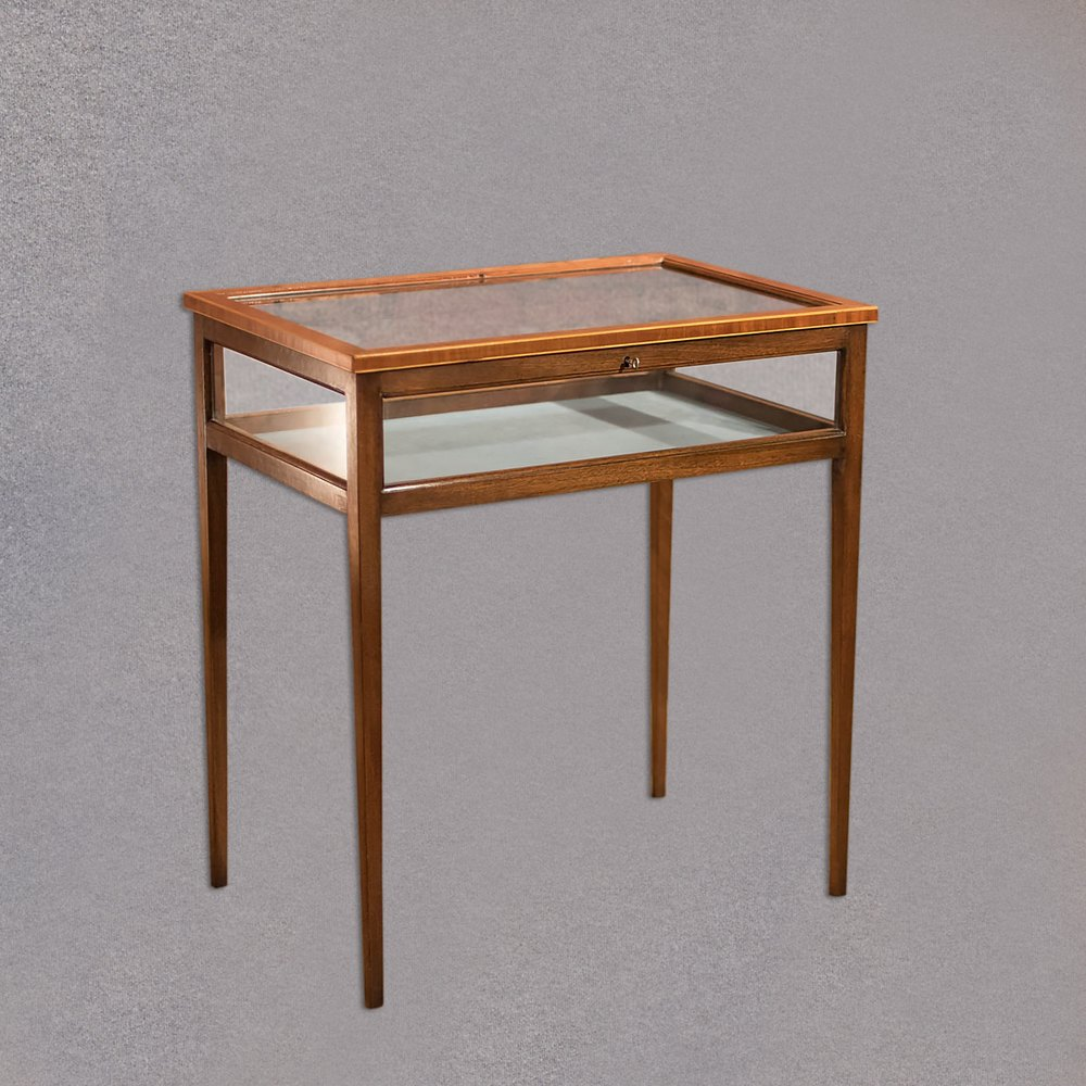 Antique bijouterie table edwardian display case for Display table