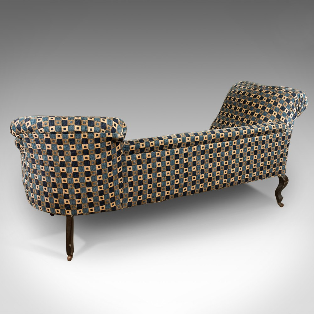 Antique Chaise Longue Edwardian Day Bed English