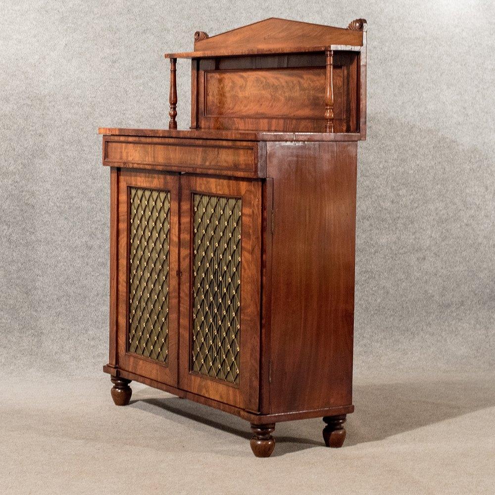 antique chiffonier side cabinet sideboard quality. Black Bedroom Furniture Sets. Home Design Ideas