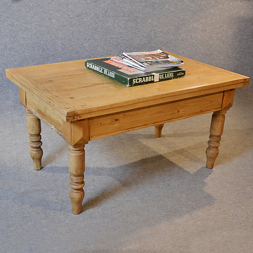 Antique Pine Coffee Tables: Antique Coffee Table Victorian Pine Low Sofa