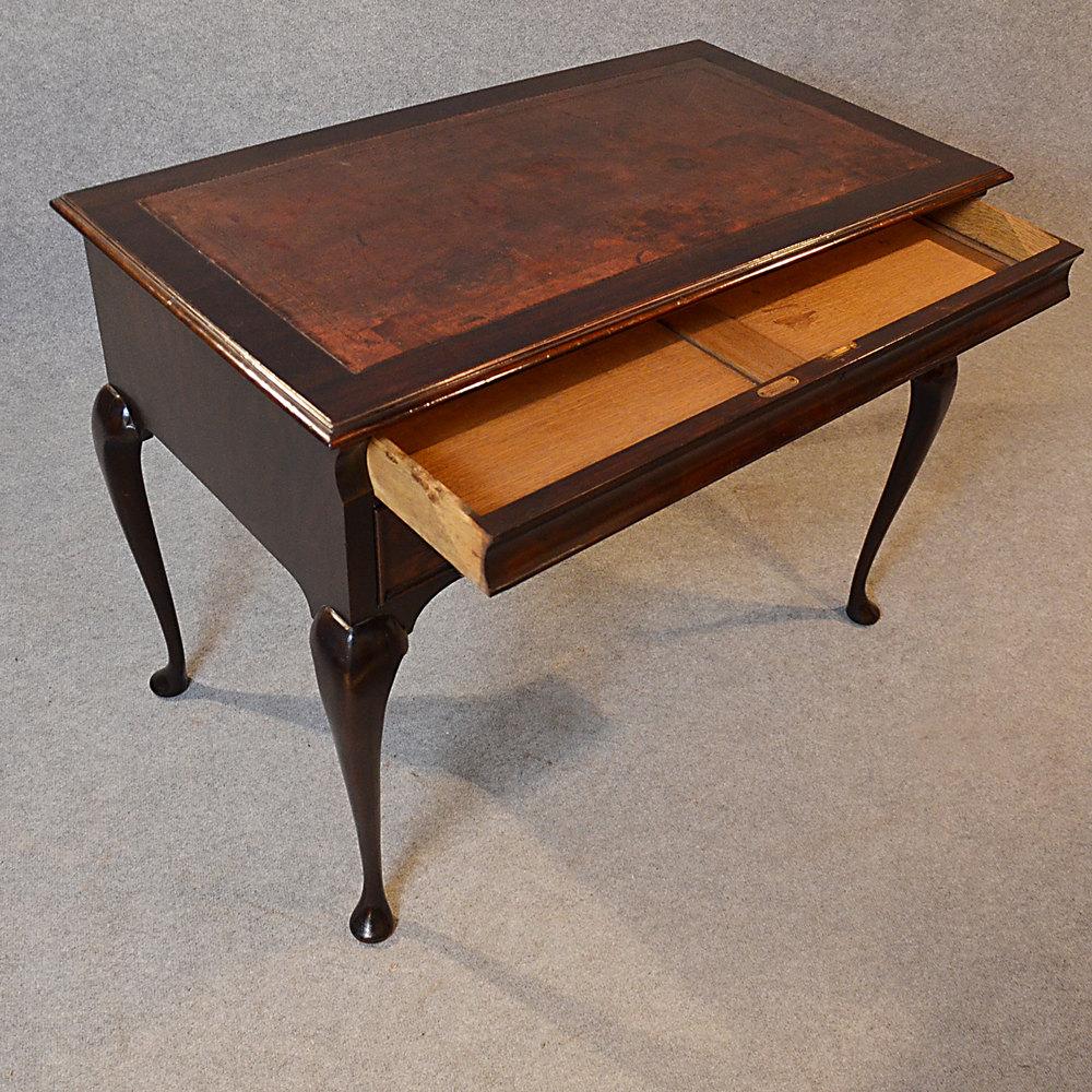 antique english writing desk The finest quality antique desks for sale - bureau, pedestal & partners desks in mahogany, oak & walnut from georgian, victorian & edwardian periods.
