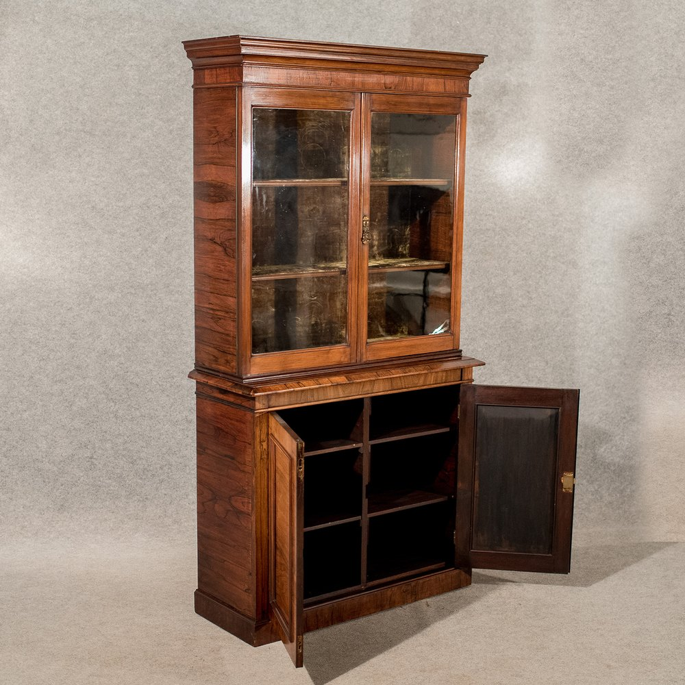 Antique Display Bookcase China Cabinet Antiques Atlas