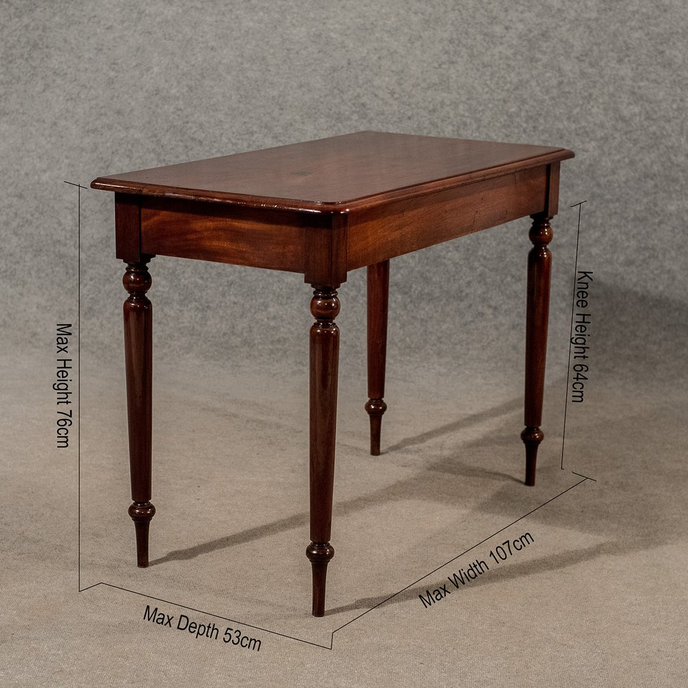 Antique elegant side hall lamp table english antiques for Side and lamp tables