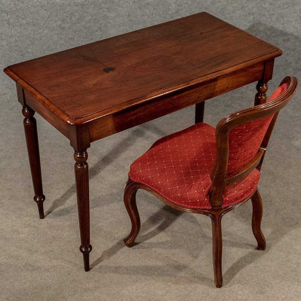 Elegant Foyer Table Lamps : Antique elegant side hall lamp table english antiques