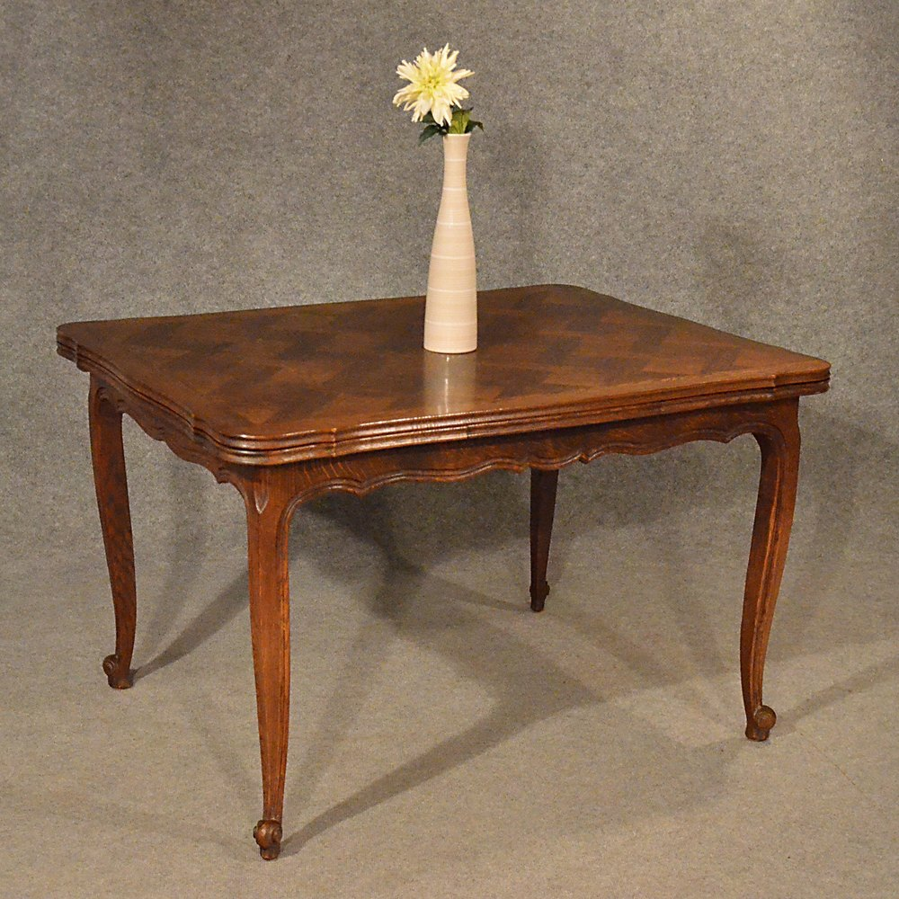 Antique Extending Kitchen Dining Table French Oak Antiques Atlas