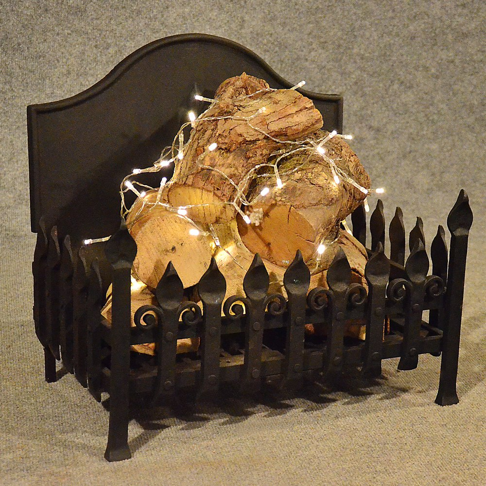 antiques atlas antique fire basket chimney hearth fireplace iron