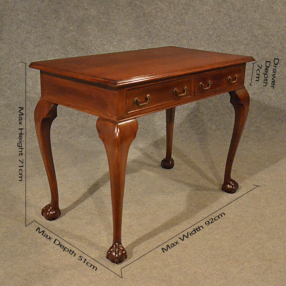 Antique Hall Desk Study Office Library Table Antique Hall Tables ...