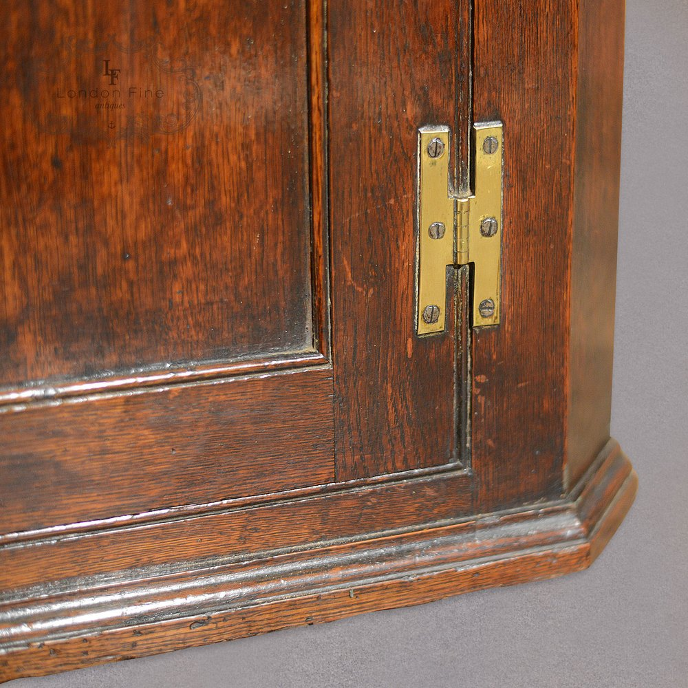 ... Antique Corner Cabinets Antique Hanging ... - Antique Hanging Corner Cabinet, Georgian Cupboard, - Antiques Atlas