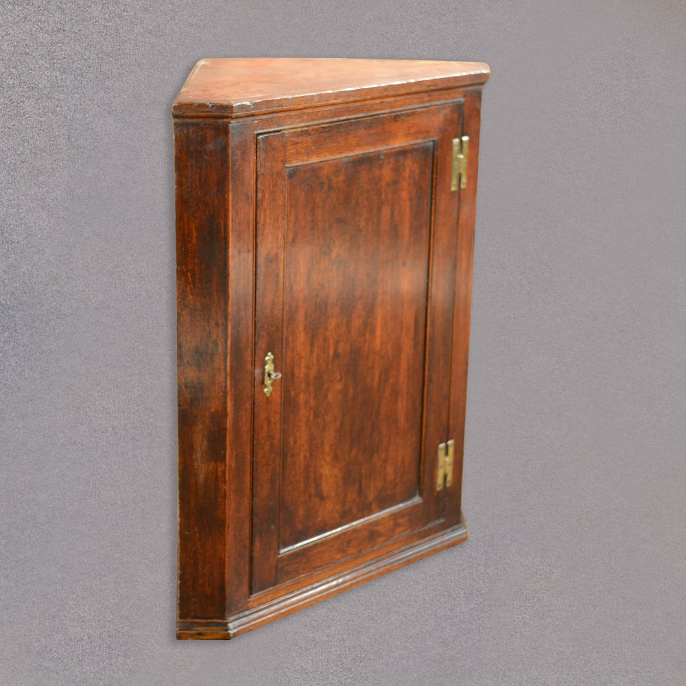 Antique Hanging Corner Cabinet Georgian Cupboard