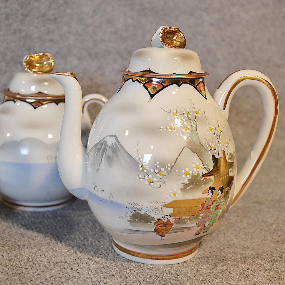 Antiques Atlas Antique Japanese Tea Set Of 24 Asian