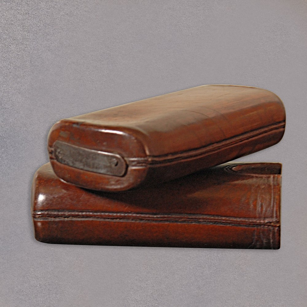 Antiques Atlas Antique Leather Cigar Case Sleeve Box
