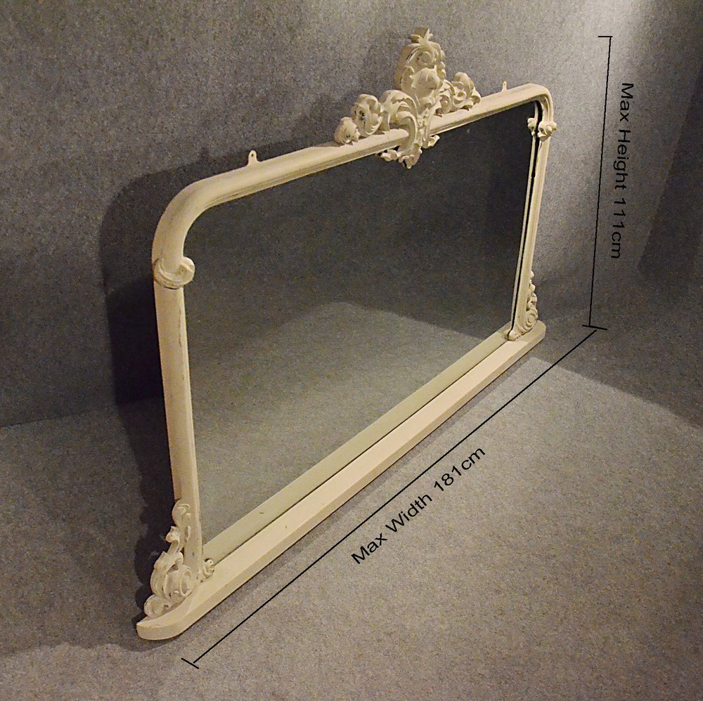 Antiques Atlas Antique Mirror Large Victorian Overmantle