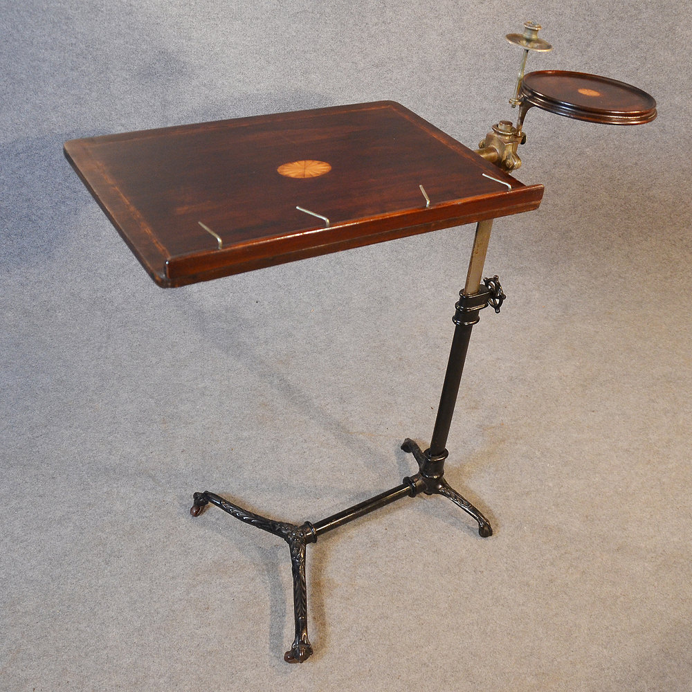 Antique Music Stand Reading Table Lectern Easel Antiques