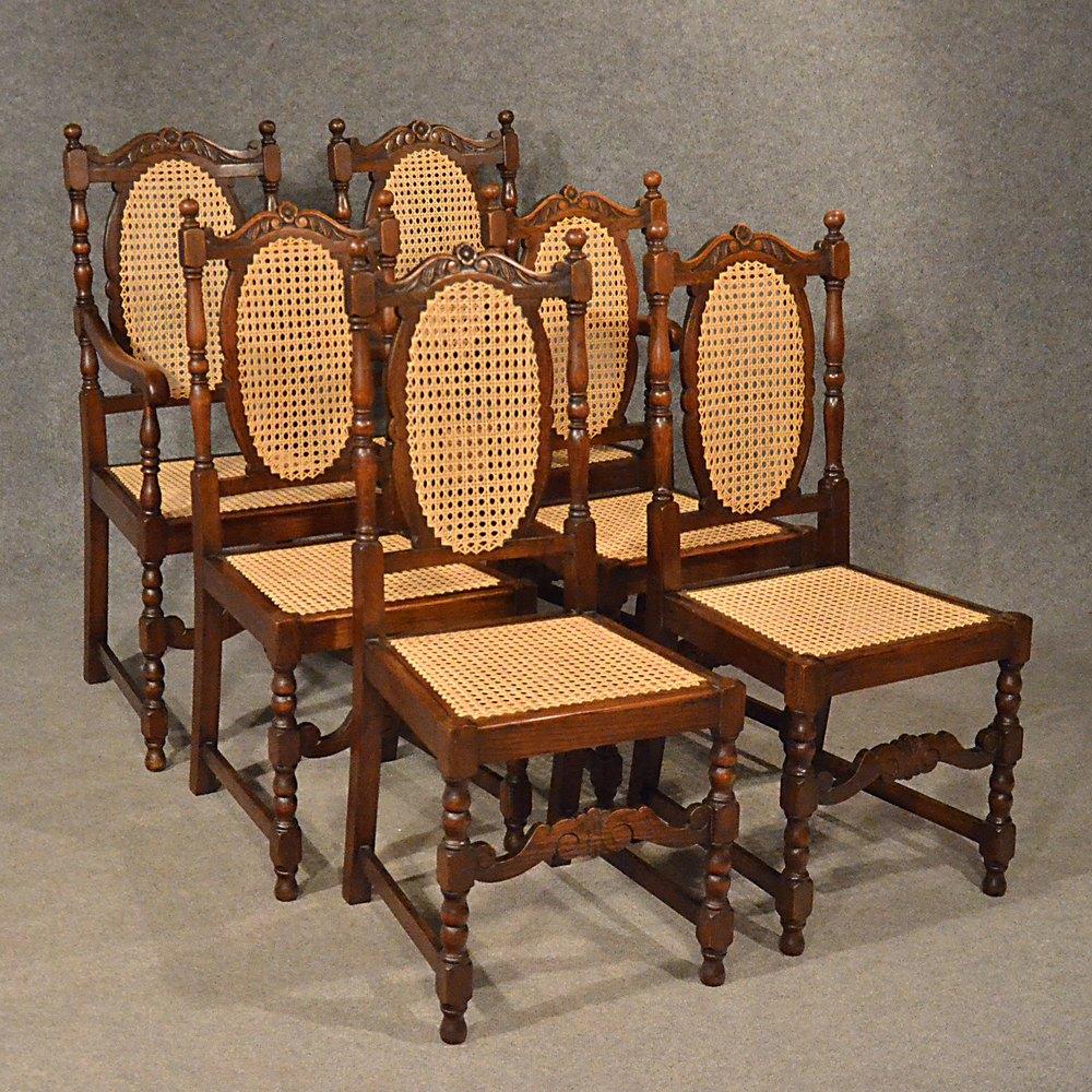 Antique Oak Chairs ~ Antiques atlas antique oak chairs set kitchen dining