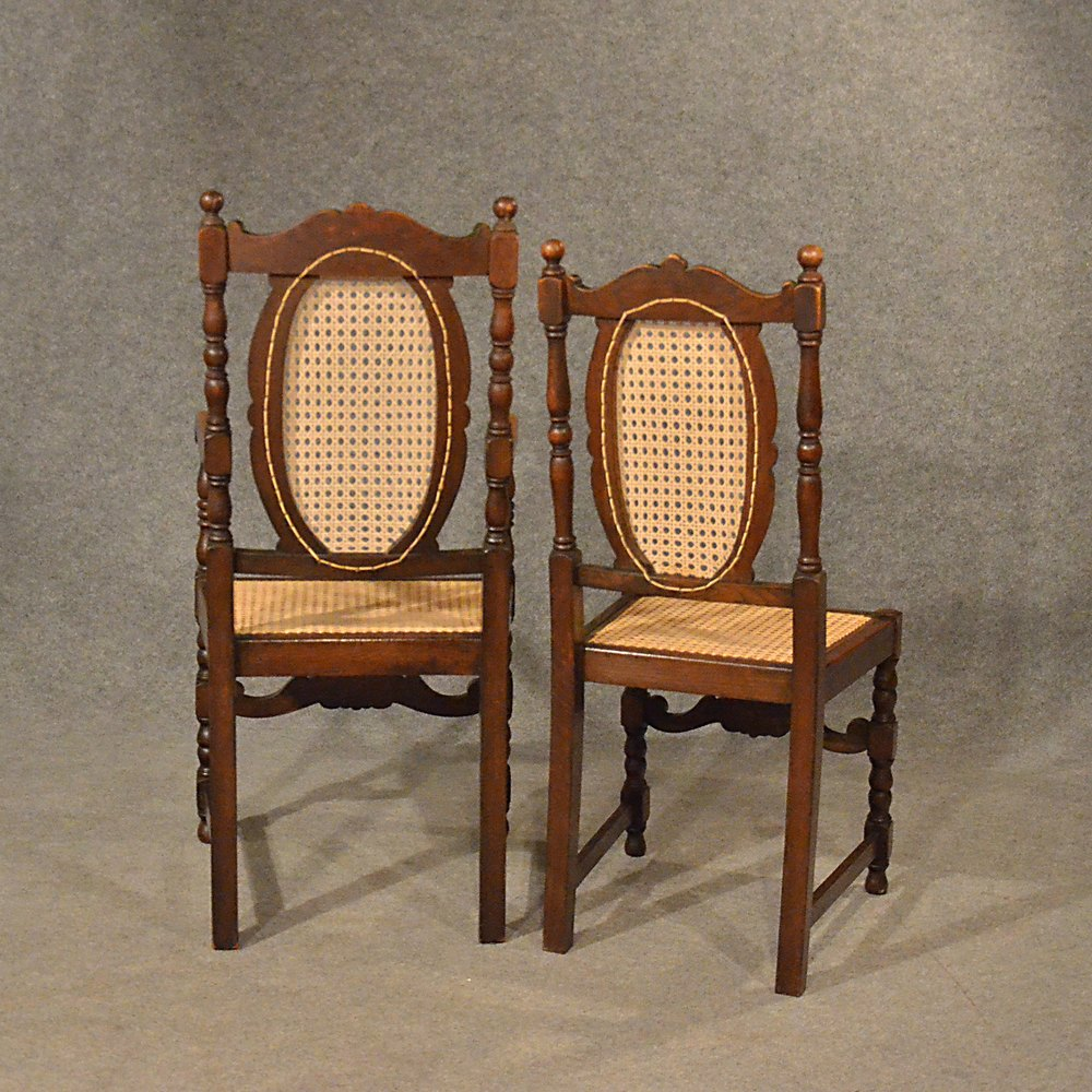 Antiques Atlas Antique Oak Chairs Set 6 Kitchen Dining Country