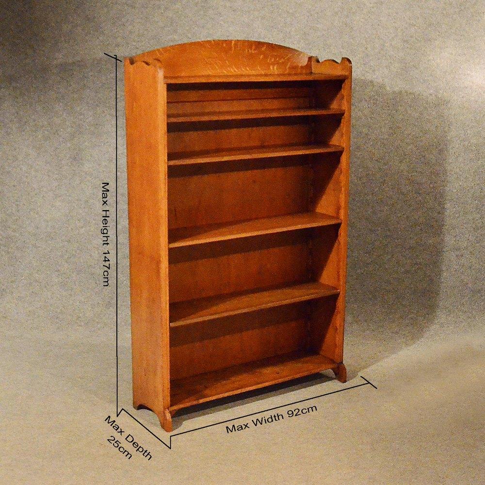 Antique Open Bookcases