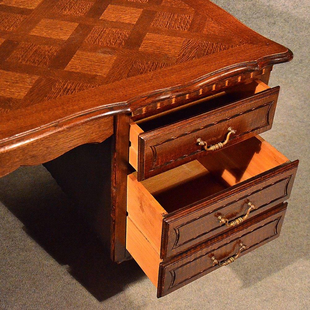 Antiques Atlas Antique Pedestal Office Desk Library Writing Table