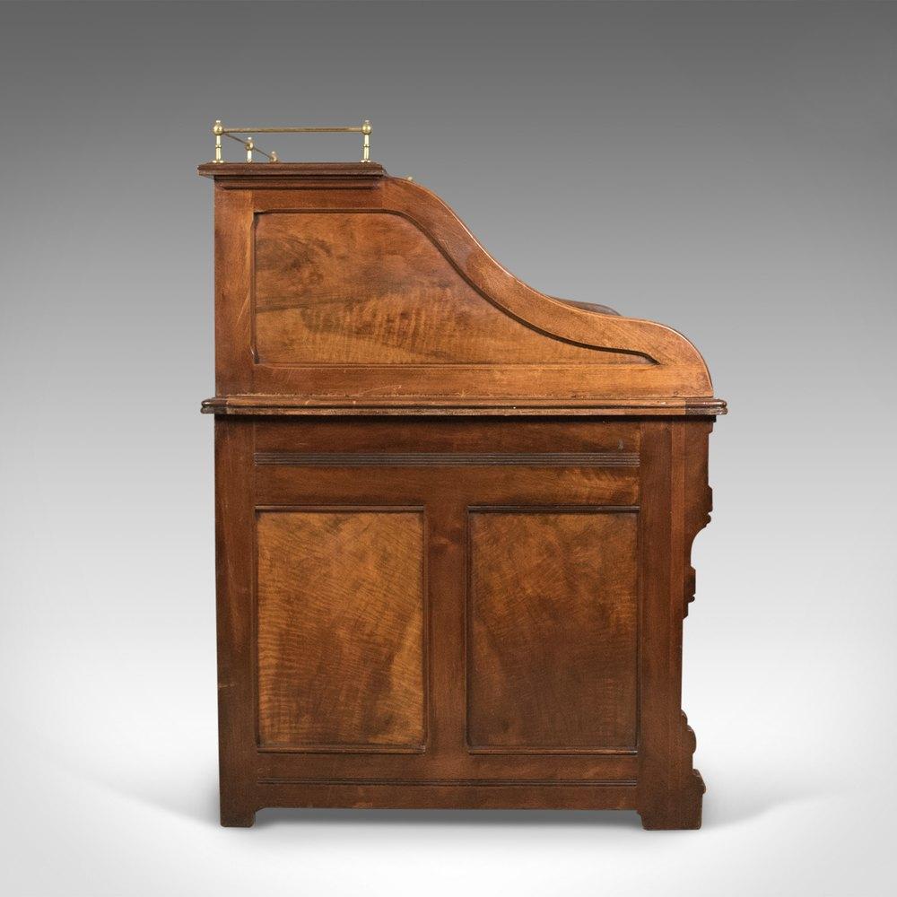 Antique Roll Top Desk Shannon File Co English