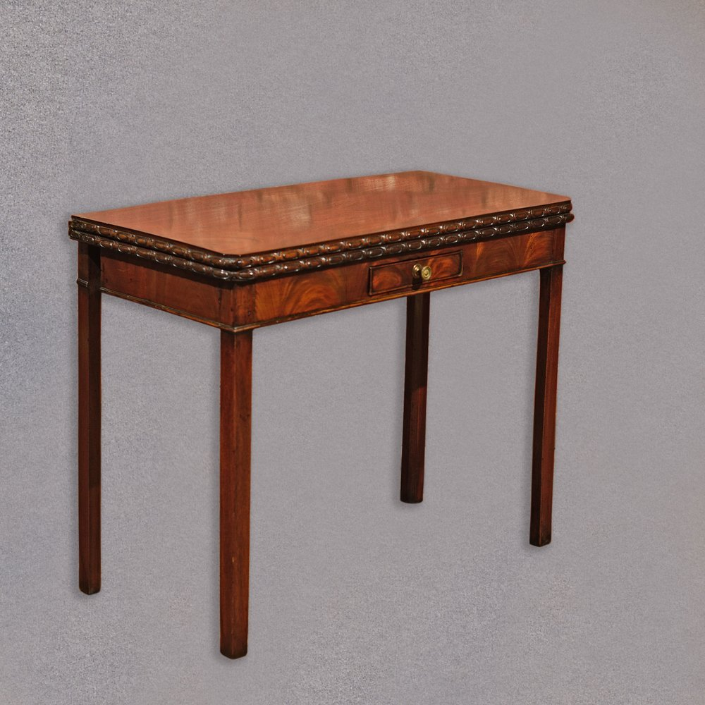 Antique regency mahogany tea table antique card tables uk antique - Antique Side Table Georgian Mahogany Fold Over Card Table Antique Card Tables