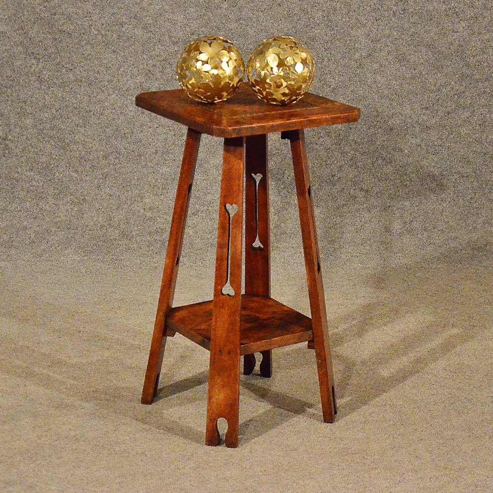 antiques atlas antique tall side table lamp stand. Black Bedroom Furniture Sets. Home Design Ideas