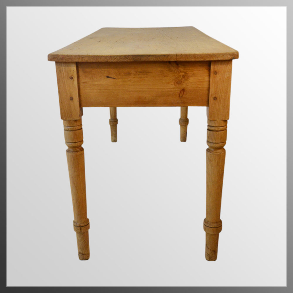 Antique Victorian Pine Kitchen Dining Table Antiques Atlas