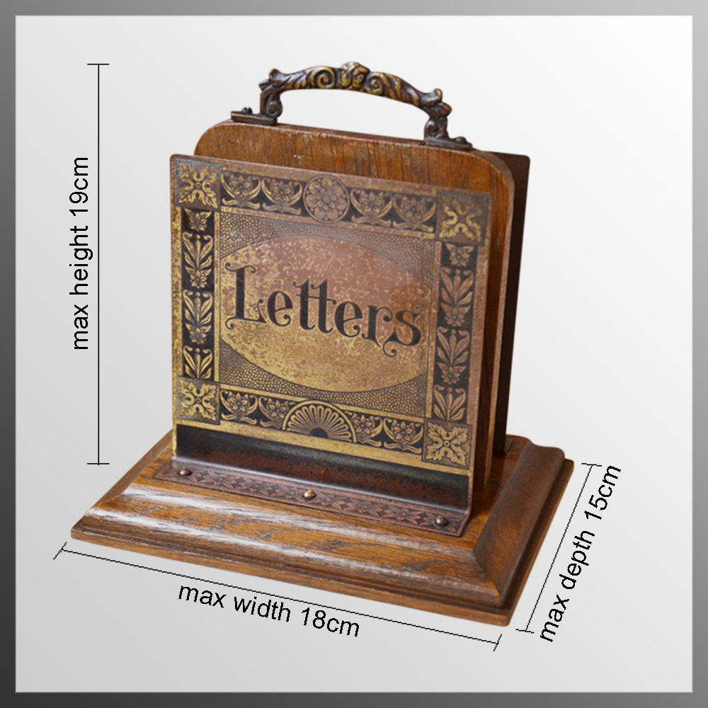 Antiques Atlas Art Nouveau Desk Letter Rack Organiser