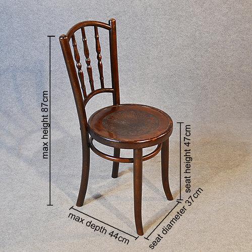 Bentwood Set Of 3 Vintage Kitchen Dining Chairs Antiques