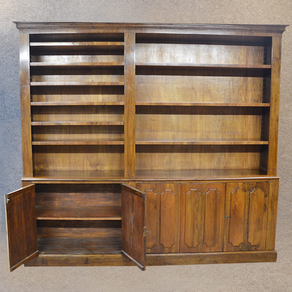 Bookcase Cabinet Large Library Display Amp Desk Antiques Atlas