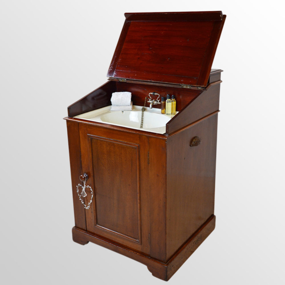 Cabinet campaign washroom sink unit hand basin antiques for Bathroom wash basin with cabinet