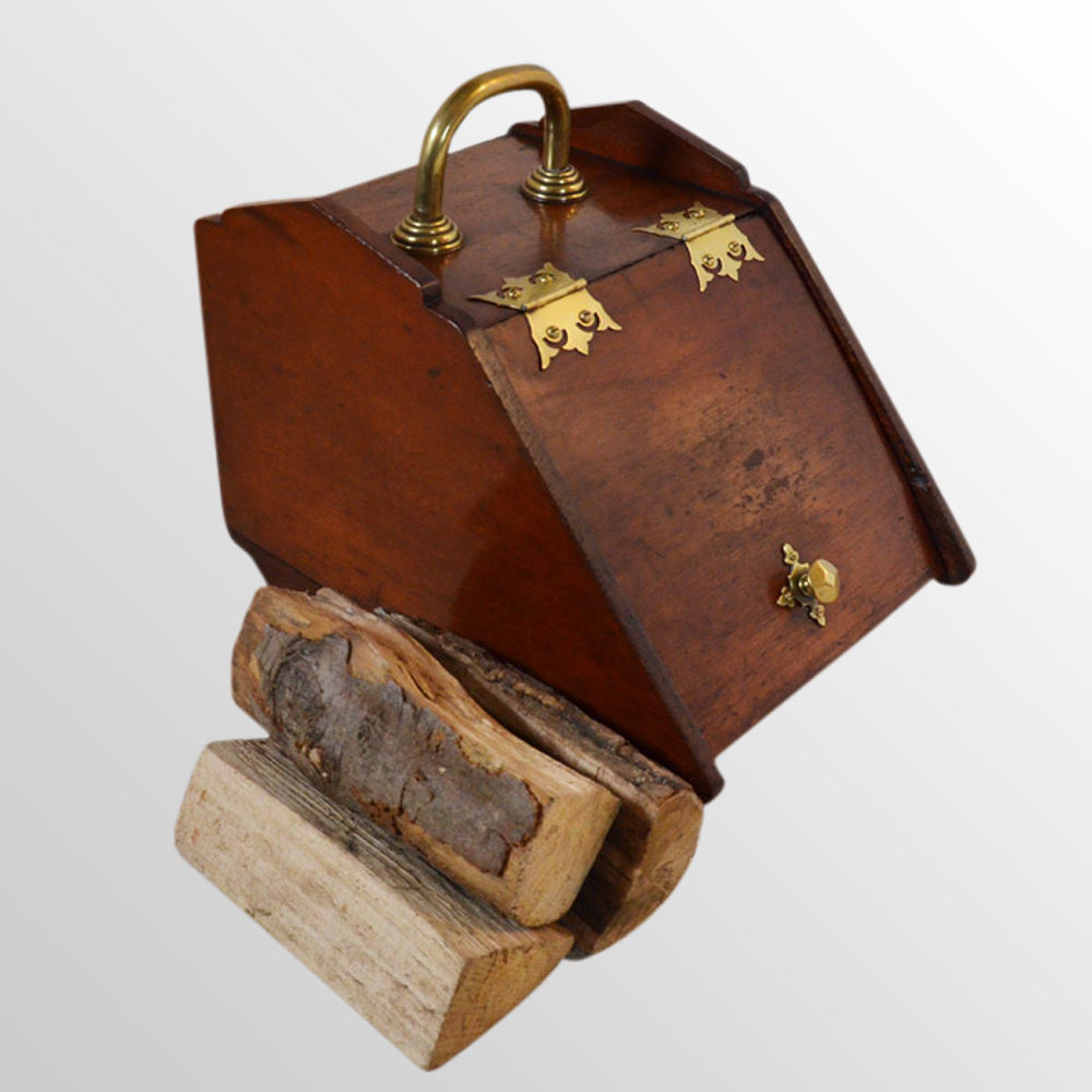 Antiques Atlas Coal Box Fireside Victorian Log Bin Purdonium